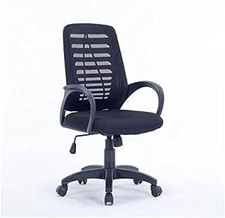 كرسي مكتب جلد بدون رقبة من كواتروو – اسود