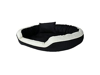 Lujo perros sofá cama para perros Dormir Espacio cesta perros Cojín de cuero sintético tamaños: M de XL
