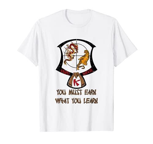 Kenpo Karate Patch Cinturón Marrón 3er Grado Decir Cinturón Ranking Camiseta