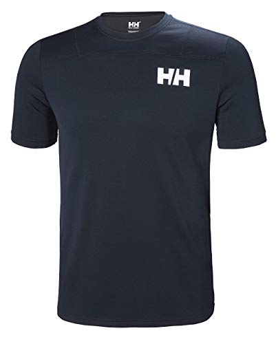 Helly Hansen HH LIFA Active Light SS T-Shirt, Hombre, Navy, M