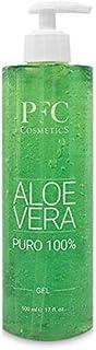 PFC Cosmetic Gel de Aloe Vera Puro 100% Loción Orgánica para y Piel Gel de Crema Hidratante Natural para Quemaduras de Sol...