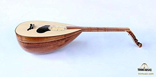 Türkische Professional Walnuss louta Lavta Oud Saiten Instrument für Verkauf hsl-102