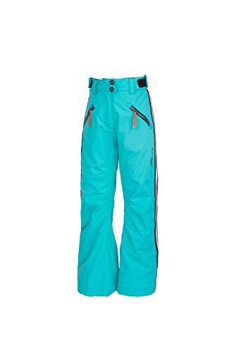 Rehall Vallery-R-JR Snowpant Girls-Jr. Lichtblauw aqua skibroek meisjes