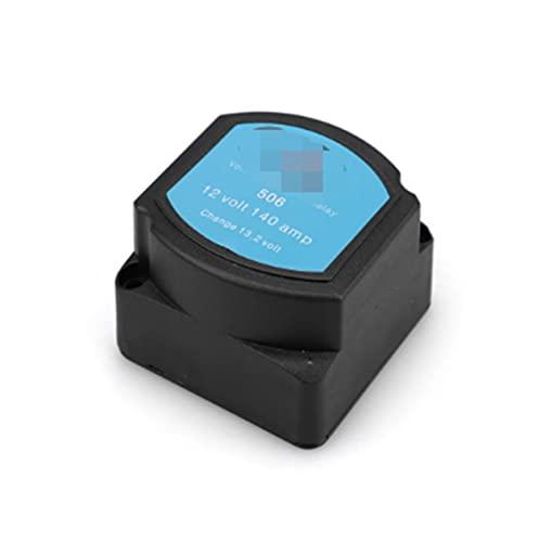 XINLIN Ruderude Relé Sensible al Voltaje 1 2V 140A Protección de relé de aislador de batería Dual VSR Carga Dividida de Voltaje para el Barco Marino automotriz.