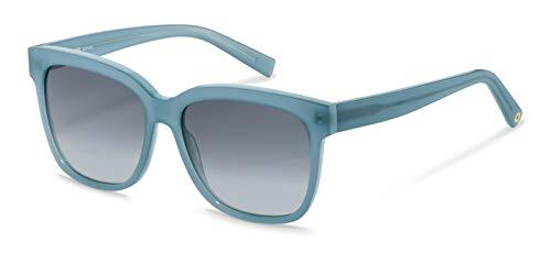 Gafas de sol Rodenstock Youngline Sun RR337 (mujer), gafas de mujer ligeras de diseño extragrande, gafas oscuras rectas con montura de plástico acetato