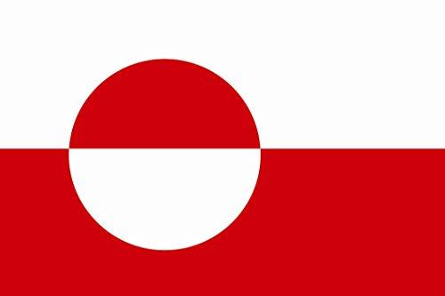 U24 Flagge Fahne Grönland 90 x 150 cm