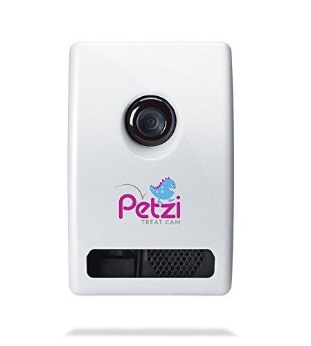 Petzi Treat Cam: Wi-Fi Pet Camera & Treat Dispenser (Renewed)
