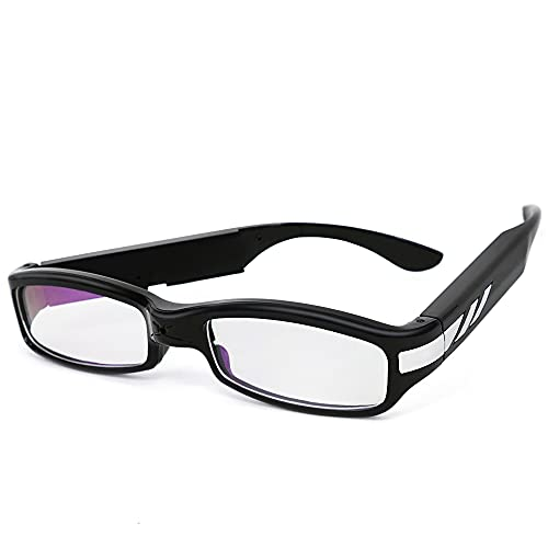 1080P HD Wearable Camera Glasses - Spy Video Recorder, 16GB Memory Card...