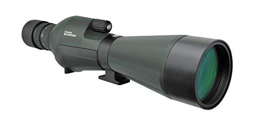 Bresser wasserdichtes Spektiv Condor 20-60x85 mit geradem Einblick und stufenlosen Zoom mit Mehrschichtvergüteter Optik inklusive 240° drehbarem Korpus und Universaltasche mit Trageriemen