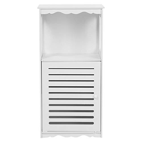 Cikonielf Mueble de baño, armario esquinero de almacenamiento con 3