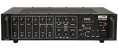 Ahuja TZA2000DP 2 Zone PA Mixer Amplifier
