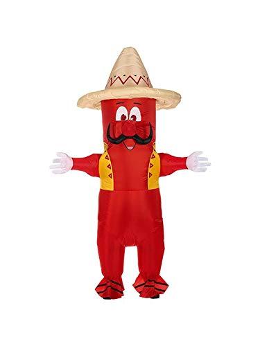 WIDMANN Disfraz de Pimiento Mexicano Hinchable para Adulto nica