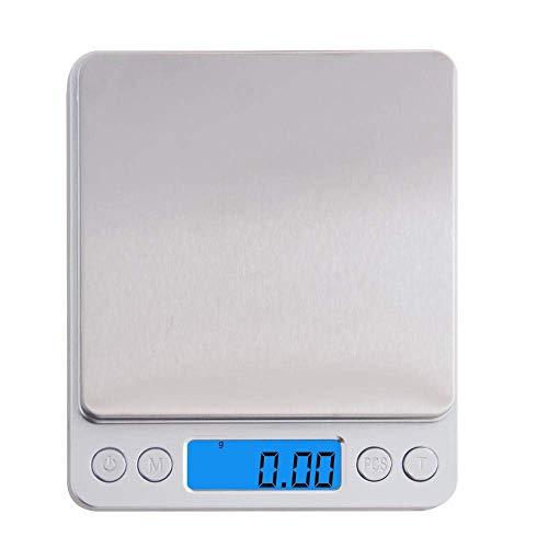 Keuken Thuis Multifunctionele Zakweegschaal Mini Keuken Voedselweegschaal 0 01G/0 1G Elektronisch Zakgewicht Theemachine Gereedschap-3Kg_and_100G_Gewicht