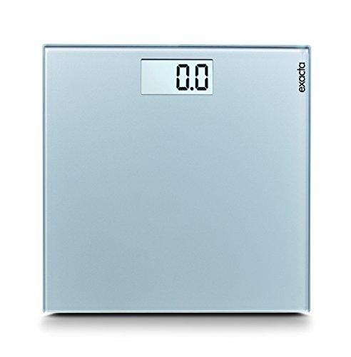 Soehnle Exacta Comfort 63315 Digitale personenweegschaal, maximaal): 180 kg, zilver, 1 stuk.