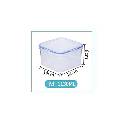 NSQQ 500/11/200 / 2200ml Caja de plástico Bento Picnic al Aire Libre Picnic de Comida Almacenamiento Alimento Comida Caja de vajilla para niños 529 (Color : 1130ml)