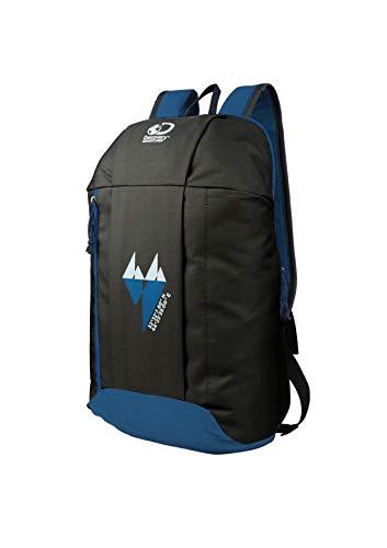 Zaino leggero da escursionismo da viaggio, Discovery Adventures da 15 l, zaino ultraleggero per campeggio, sport all'aria aperta, per corsa, ciclismo, campeggio e altro ancora, colore: nero