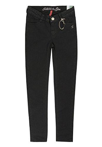 Lemmi Mädchen Jeanshose Jeggings Jeans Girls Superbig, Schwarz (Black Denim 0010), 140