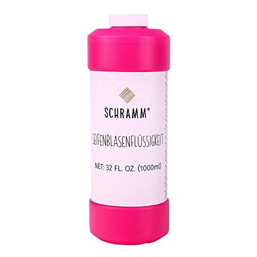Schramm® de 1 litro Recambio de líquido de Burbujas Ideal para Las Varillas de Las Pistolas