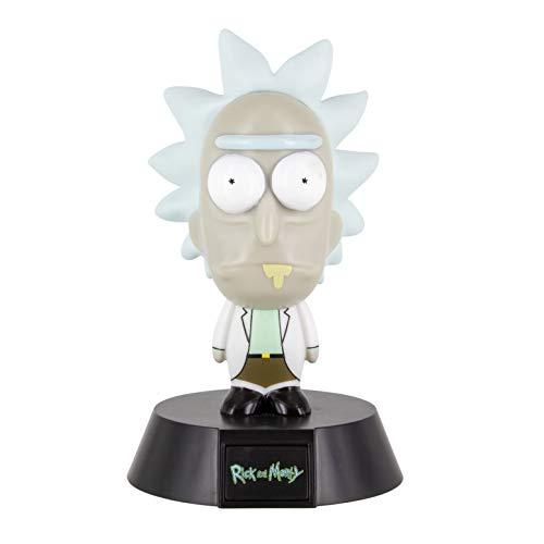 Paladone 73667 Lampada Rick e Morty 3D, 10 cm