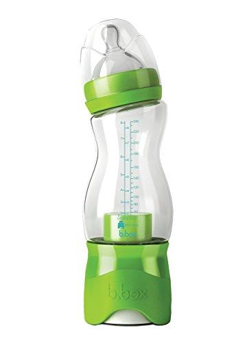 B. Box Essential Baby Bottle - Green - 8 oz by Bbox