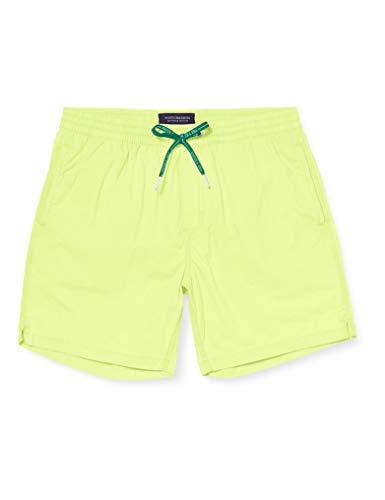 Scotch & Soda Herren Garment-Dye Badeshorts, Gelb (Highlight Yellow 3154), Medium (Herstellergröße:M)