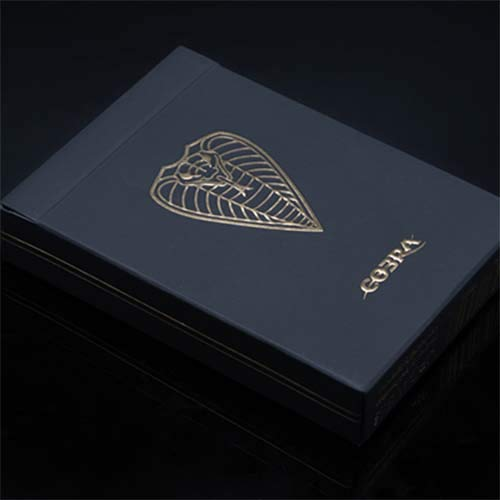 SOLOMAGIA Cobra Black Edition Playing Cards