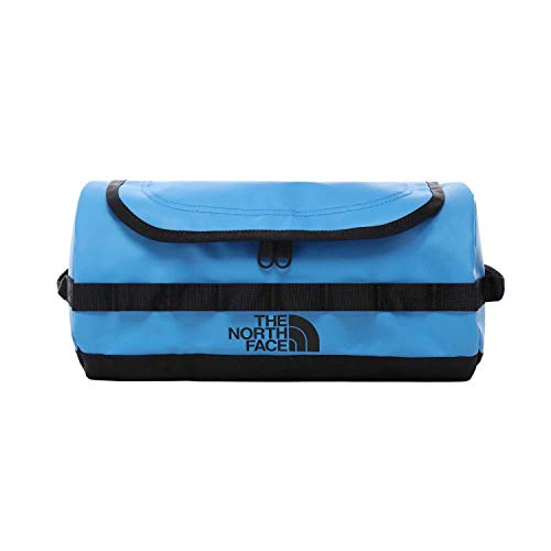North Face Base Camp Travel Canister Large Wash Bag One Size Clear Lake Blue TNF Black