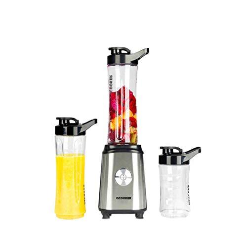 wlkeu Licuadoras de Frutas y Verduras, máquina de Cocina, exprimidor eléctrico portátil, batidora, procesador de Alimentos de Cocina QCOOKER CD-BL01 US Plug