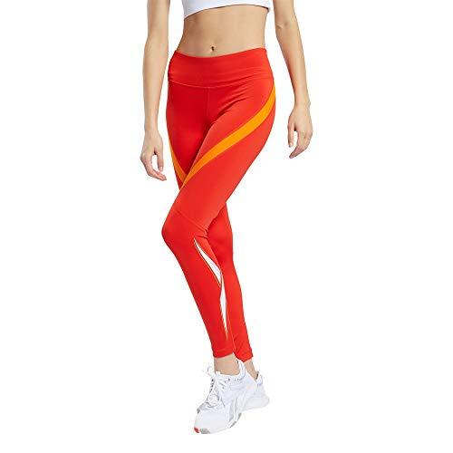 Reebok WOR Vector Logo Tight Leggings Donna Inred S