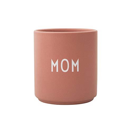 Design Letters Lieblingsbecher Nude MOM | Tasse Personalisiert | Personalisierte Geschenke für Mama | Muttertag Geschenk | Becher mit Spruch | Kaffeebecher/Kaffeetassen in Porzellan mit Buchstaben