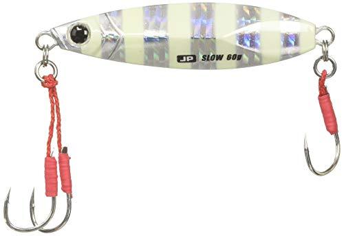メジャークラフト ルアー メタルジグ ジグパラ ショアスローモデル30g #07 ゼブラグロー JPSLOW-30