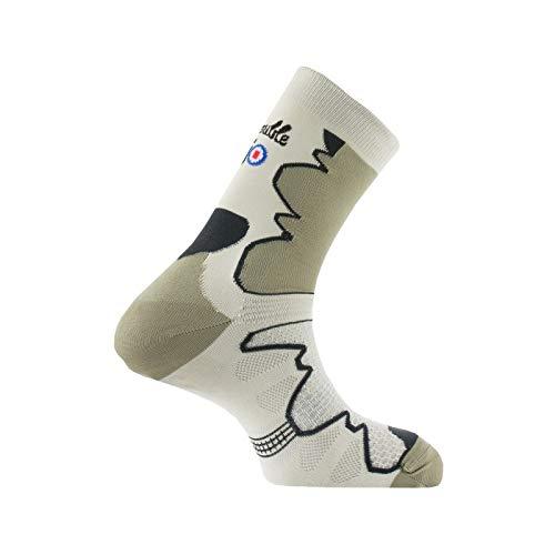 Thyo - Mi-chaussettes Double-Trek pour randonnée - couleur - Kaki - Pointure - 45-46