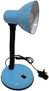 [HZA82] - Simple Design Flexible Hose Neck Desk Lamp/Table Lamp/Study Lamp with LED bulb (BLUE)