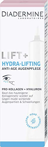 DIADERMINE Lift+ Hydra Lifting Augenpflege Anti-Age Augencreme, 1er Pack (1 x 15ml)