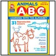 Paperback Animals ABC Grades Pre-K-K Book