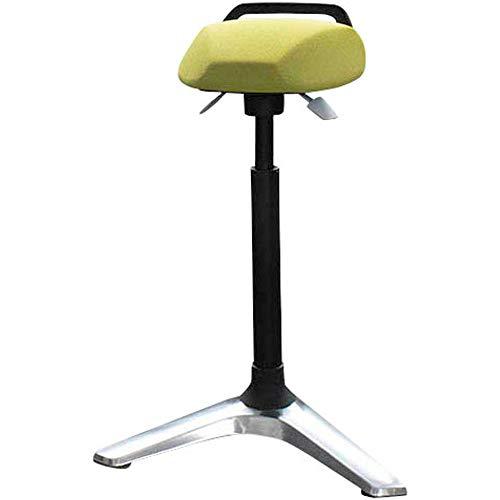 Hammerbacher Stehhilfe, Stehhocker, höhenverstellbar 61-90 cm, ergonomisch geformerter Sitz, drehbar (grün)