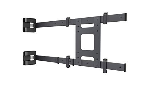 Meliconi Flag TV-Flaggenhalterung für Fernseher von 49 – 75 Zoll (49 – 75 Zoll), geeignet für alle Fernseher, VESA 200 – 300 – 400 – 600, Schwarz