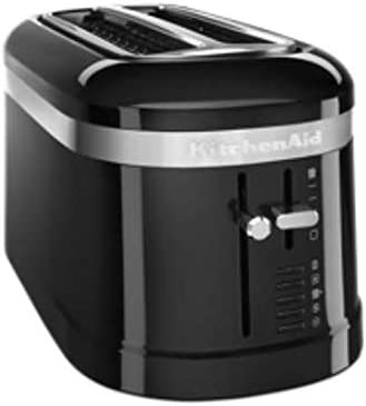 popular KitchenAid online KMT5115OB 4 Slice Long Slot High-Lift Lever Toaster, Onyx online sale Black online sale