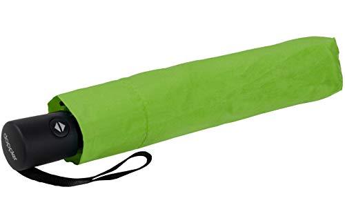 Zero*Magic der Ultra leichte & kompakte Regenschirm von doppler mit Auf-Zu Automatik bei Einem Gewicht von nur 176 Gramm Peppy Lime