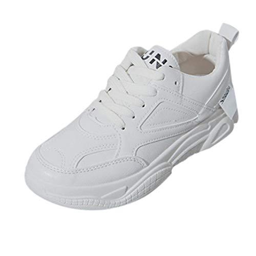 Unisex volwassenen sneaker witte schoenen dames fitness loopschoenen sportschoenen veters running sneaker gym schoenen By Vovotrade