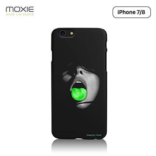 Moxie - Carcasa rígida para iPhone 8 y iPhone 7 (policarbonato), Compatible con Recharge Sans Fil Chargeur Sans Fil Chargeur à Induction