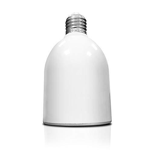 ZYC-WF Color de la Bombilla Luz Bluetooth Altavoz CoráN. Equipado con Altavoz de Alta DefinicióN, la Calidad Del Sonido Es Perfecta, Y la Voz. / Blanco
