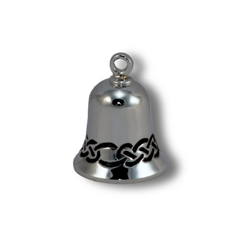 Au Cornerstone, Inc. Celtic Weave Chrome Plated Brass Ride Bell, Style #CB30