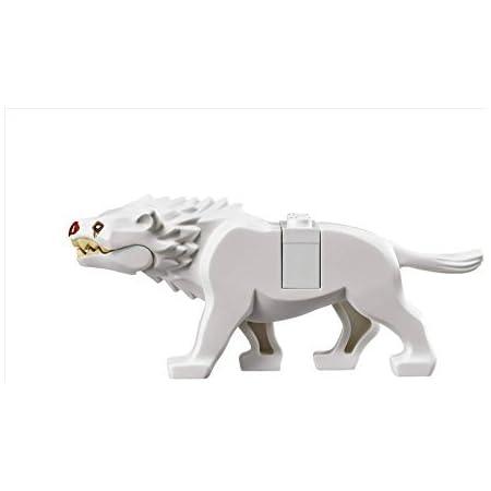 11X Herr der Ringe Hobbit Warg Wolf Tier Minifigur Figuren Baustein Spielzeug