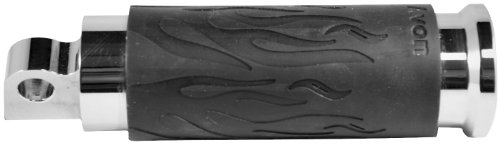 Avon Grips cale-pieds Chrome flame Harley Davidson