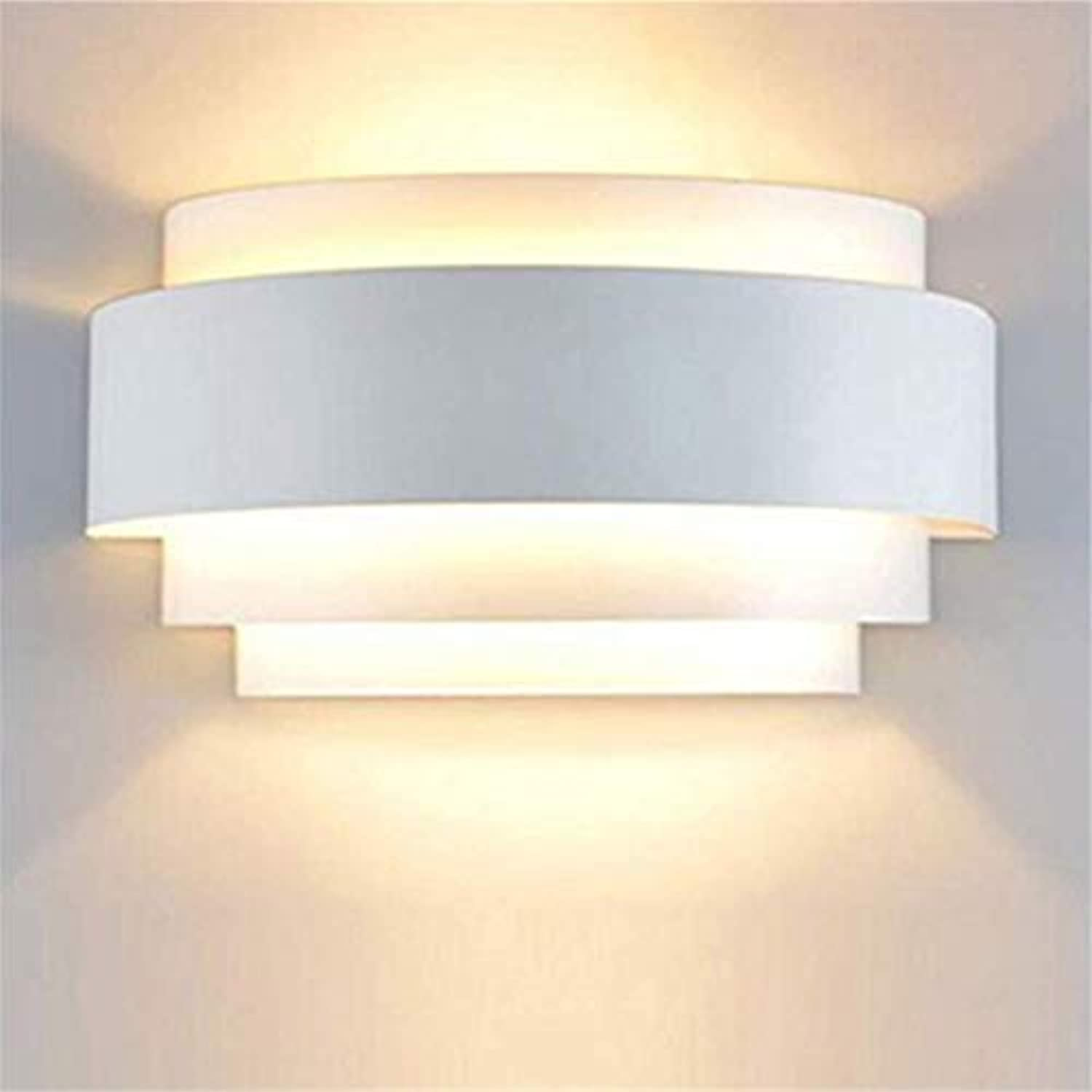 Chandeliermodern Led Wall Lights Up Down Wall Light Sconce Lamp E27 Ideal For Living Room Corridor Bedroom Light, Warm Weiß [Energy Class A++]
