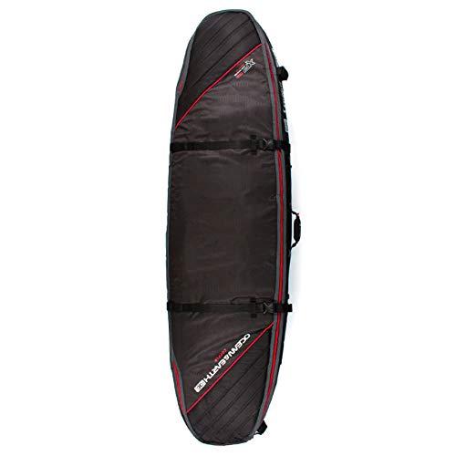 Ocean and Earth Quad Coffin - Bolsa para tabla de surf, color Negro, talla 7ft