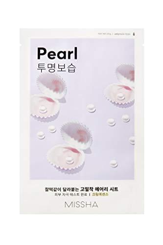 MISSHA Pure Source Cell Sheet Mask Perlen Pearl Gesichtsmaske gesichtsmaske Korean Kosmetik 10 pcs