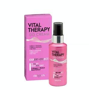 Sérum Vital Therapy DD Cream Deliplus cabello apagado y sin vida con colágeno y extracto de semilla de nuez