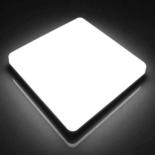 LED Lámpara de Techo Cuadrada Ketom 48W, Plafón Led
